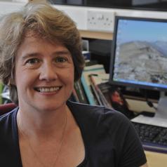 Portrait of Dr Judith Hebron